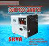 低いPrice 5kw /5.5kVA Portable Silent Diesel Generator