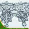 Novo Design 2016 Bordados rendas em Organza (HD-022)