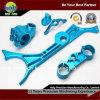Levier de frein CNC Aluminium / Bracelet supérieur avec anodisé bleu