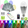 LED Lightbulb E26 RGBW 9W E27 E26 B22 Lamp Base Bulb