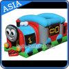 Moonwalk inflable al aire libre del tren para los juegos de los cabritos