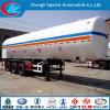 De op zwaar werk berekende Semi Aanhangwagen van 3 LPG van Assen
