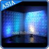 Miroirs gonflables personnalisés à la surface des murs d'air pour salon professionnel