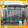 Завод автоматического тензида бутылки любимчика заполняя упаковывая