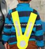 V veste dada forma das crianças da segurança