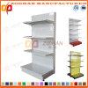 Singola scaffalatura laterale personalizzata Manufactured della visualizzazione di parete del supermercato (Zhs575)