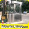 Cabine portátil ao ar livre do aço inoxidável para o protetor de segurança