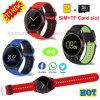 De nieuwste Telefoon van het Horloge van Bluetooth van de Sport van de Camera Slimme met Antilost W9