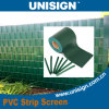 PVCストリップのプライバシースクリーン