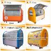 Carro barato de múltiples funciones del alimento de la calle de la máquina expendedora del Crepe (ZC-VL01)