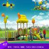 Скольжение спортивной площадки зоны игры малышей времени игры детсада пластичное