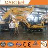 Máquina escavadora hidráulica quente da esteira rolante das vendas CT85-8b com trilhas de borracha