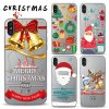 Рождественский подарок пользовательских печатных телефон чехол для iPhone X Clear TPU случае бампер для мобильных ПК чехол для iPhone X случае ЯПФ75