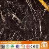 Telha lustrosa da porcelana da cor preta para o assoalho/parede (JM6609)