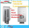 IP67 100W PCI LED 가로등은 250W 전통적인 나트륨 점화를 위해 대체한다