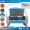 Machine de découpage de laser de CO2 avec les têtes duelles de laser