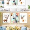 Kundenspezifische Tieröl-Segeltuch-Farbanstrich-Wand-Abbildung für Haus, Büro, Hotel-Dekoration