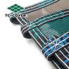 Большой бассейн с ячеистой сети листьев принятия решений Tc-Cover крышки