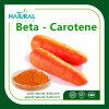 Beta-carotene naturale 98% dell'estratto della carota dell'estratto della pianta di 100%