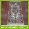 Чистые руки Knotted персидский ковер из шелка