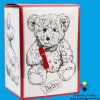 El coste de envío Guardar plegado de papel cajas de regalo (OEM-BX001)