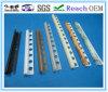 Testi fissi delle mattonelle del PVC, testi fissi di plastica del bordo