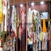 Satin en soie Fabric pour Scarves