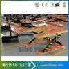 type fixe table élévatrice de 3ton 3000kg E électrique hydraulique de ciseaux