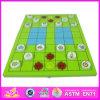 2014 новый детский деревянный шахматной игре, популярных детей деревянные шахматной игре и продажи рекламных шахматной игре W11A025