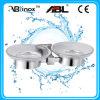 Piatti di sapone dell'acciaio inossidabile di ABLinox Double