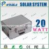 20W портативная солнечная домашняя электрическая система, солнечная электрическая система, Solar Energy система, солнечная система генератора
