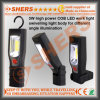 Cuerpo de Inspección de mano recargable 3W COB LED Magetic base giratoria Luz