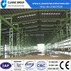 Edificio fácil del almacén de Prefeb de la estructura de acero de la asamblea con la grúa 100 toneladas