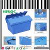Caixa logística do recipiente da modificação plástica durável
