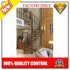 Escadarias espirais de madeira modernas do aço inoxidável (JBD-S4)