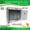 incubateur automatique approuvé d'oeufs de Digitals de la CE (de 4576 oeufs)