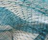 ナイロンまたはポリエステル倍によって結ばれるマルチフィラメントの漁網