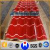 Colorare le lamiere di acciaio rivestite del tetto