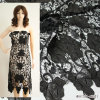 Lace químico Embroidery Fabric para Leather Dress