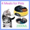 4 Voeder van de Kat van de Hond van het Voedsel van de Voeder van het Huisdier van het Dienblad van de maaltijd de Automatische Elektronische Programmeerbare