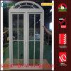 UPVC Dubbel Verglaasd Venster, Overspannen Openslaand raam met Koloniale Staven