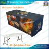Panos e mesa de exposições personalizados de 6 pés (NF18F05018)