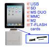 5+1 em 1 Kit de ligação, Leitor de cartão para iPad 2/3 (KIPAD-0504)