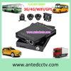 4CH meilleur dans le système de télévision en circuit fermé de véhicule pour le taxi transporte des véhicules avec le rail de GPS