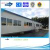 Casas pré-fabricadas modulares claras da construção de aço de Qingdao para o campo de trabalho