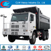 Sinotruk 6X4 Off Road Mining Camion benne basculante Camion benne
