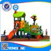 Het openlucht Type van Speelplaats en Plastic Speelplaats, de Pijp van het Staal Gavanized en Netto Materiële OpenluchtSpeelplaats