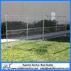 パネルを囲うチェーン網の一時塀/可動装置