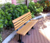 Оптовая напольная пластичная деревянная мебель улицы 1500X600X750mm сада