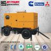 Gerador de Reboque móvel 60kVA gerador diesel insonorizadas com Rodas